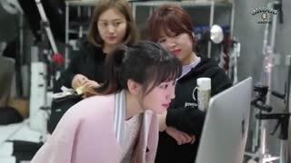 پشت صحنه سریال کره ای Choco Bank (بانک شکلات) کای اکسو EXO
