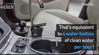 تولید آب از تعریق سیستم تهویه خودرو