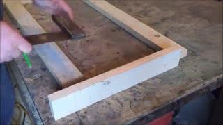 آموزش ساخت صندوقچه چوبی مدرن