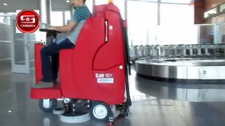 اسکرابر خودرویی- شستشو و نظافت فرودگاه