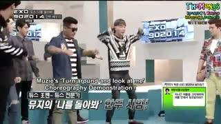 اکسو در برنامه ی 90:2014 ... قسمت 11 موزیک ویدیو کای ... بخش 1 ... EXO