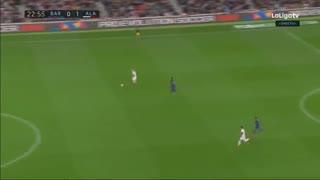 خلاصه بازی بارسلونا 2 - آلاوس 1