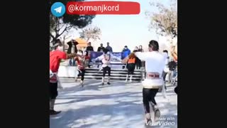 رقص زیبای مردان کرمانج