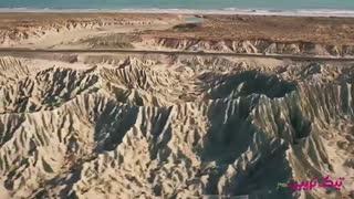 سرزمین پر رمز و راز چابهار - کوه های مریخی