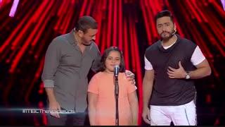 اجرای جالب دختر بچه ی تپل در مسابقه ی خوانندگی أحلی صوت (کلیپ رحمان)