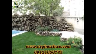 طراحی و ساخت آلاچیق و ساخت و طراحی آبنما و آبشار صخره ای