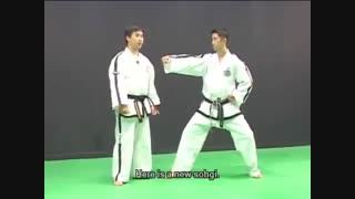 آموزش فرمهای تکوان -دو ITF.فرم شماره چهار WON-HYO