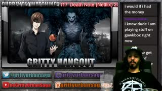 DEATH NOTE Netflix 2017 FULL MOVIE Live Reaction Review HD Gritty Hangout