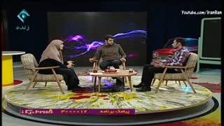 مشاجره ی لفظی یک جوان بیکار و نماینده مجلس در برنامه زنده علی ضیا