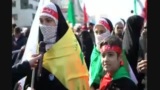 راهپیمایی مردم مشهدمقدس در یوم الله 22 بهمن