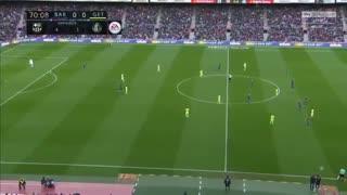 نیمه دوم  بازی بارسلونا و ختافه ( 22 بهمن 96 )