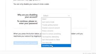 حذف اکانت اینستاگرام به صورت موقت