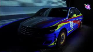 نورپردازی سه بعدی خودرو