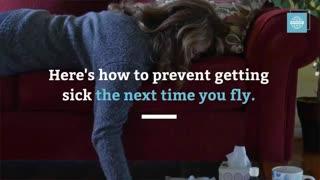 5 راه برای جلوگیری از سرماخوردگی بعد از پرواز