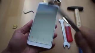 تست ضربه و آتش Redmi Note 5 Pro