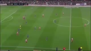 فول مچ بازی بارسلونا 6-1 خیرونا ( نیمه اول )