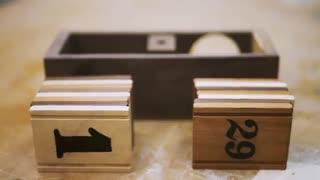آموزش ساخت تقویم چوبی رومیزی