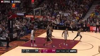 خلاصه بازی Cleveland Cavaliers vs San Antonio Spurs