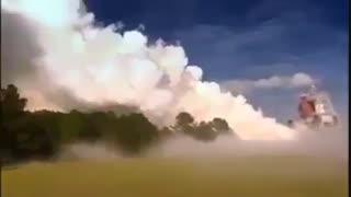 ماشین تولید ابر مصنوعی و بارش باران از آن