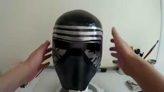 ساخت ماسک Kylo Ren جنگ ستارگان