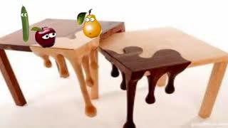 انمیشن دعوای سیب و خیاروگلابی
