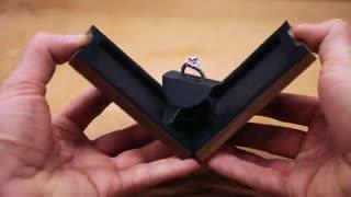 ساخت جعبه جواهر خلاقانه با چوب