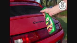 واکس محافظ و براق کننده ترتل واکس Turtle Wax Quick & Easy Wax & Dry Spray Wax