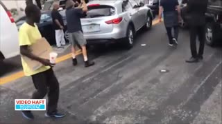 ✅ اعمال قانون با پتک در خیابانهای میامی آمریکا