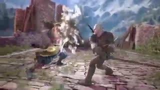 شخصیت Geralt of Rivia به همراه تریلری به بازی SoulCalibur VI معرفی شد