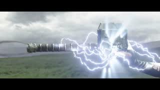 نمونه هایی از جلوه های ویژه آغاز فیلم رگنروک