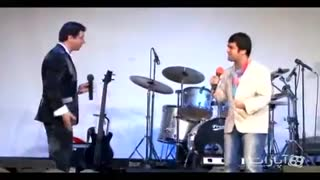 قسمتی از اجرای حامد آهنگی