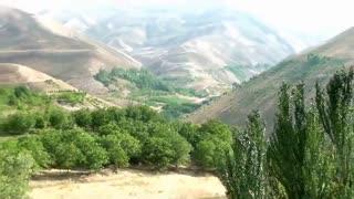 جاذبه طبیعی وگردشگری استان چهارمحال وبختیاری -شهرستان فارسان-شهرباباحیدر(منطقه سراب)