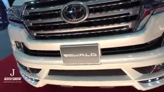 (4K)WALD LAND CRUISER SPORTS LINE URJ202W - OSAKA AUTOMESSE 2016