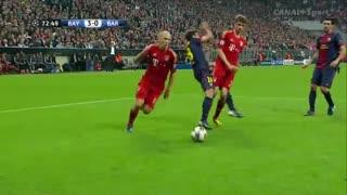 گل آرین روبن به بارسلونا در لیگ قهرمانان اروپا 2013