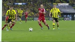 گل آرین روبن به دورتموند در فینال لیگ قهرمانان اروپا 2013