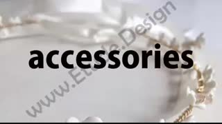 اکسسوری چیست ؟ تلفظ کلمه اکسسوری accessory