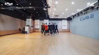 Pentagon -dance practice- runaway تقدیمی برایnaimeh جان