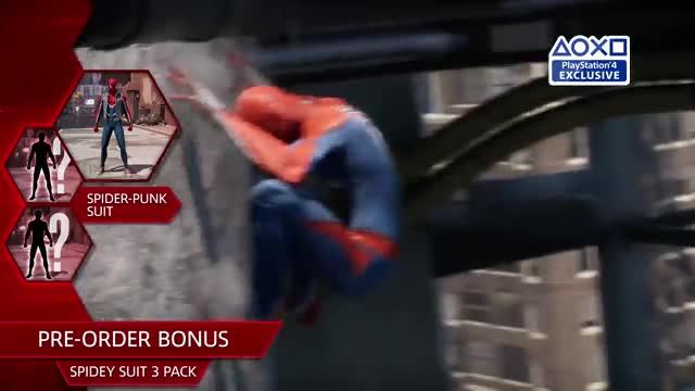 تریلر معرفی تاریخ انتشار بازی Marvel's Spider-Man Marvel's Spider-Man