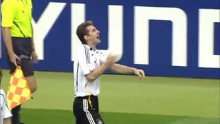 گل میروسلاو کلوزه به آرژانتین در جام جهانی 2006