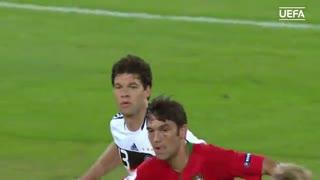گل میشاییل بالاک به پرتغال در یورو 2008