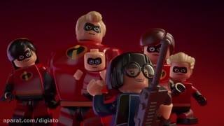 تریلر معرفی بازی Lego: The Incredibles