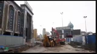 آخرین  وضعیت پروژه طرح توسعه حرم امام حسین (ع)