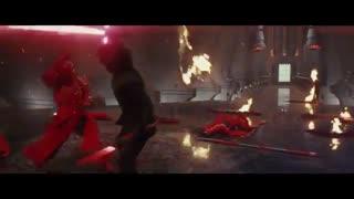 مبارزه با گاردهای امپراطور Star Wars: The Last Jedi