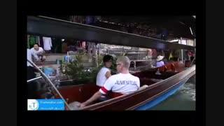 بازار های شگفت انگیز بصورت شناور دربانکوک