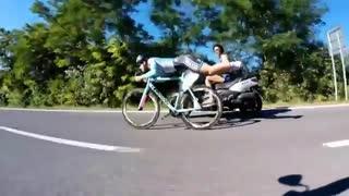 روشی جدید برای برنده شدن در مسابقات دوچرخه سواری