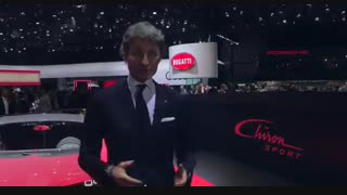 Bugatti at Geneva International Motor Show 2018 – World Premiere of the Chiron Sport