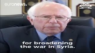 سندرز: ترامپ مشروعیت قانونی برای تصمیمگیری در مورد جنگ سوریه را ندارد