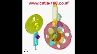 مکانیزم چرخ دنده همراه با بادامک