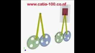 مکانیزم چرخ دنده با پیستون
