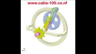 مکانیزم چرخ دنده داخلی